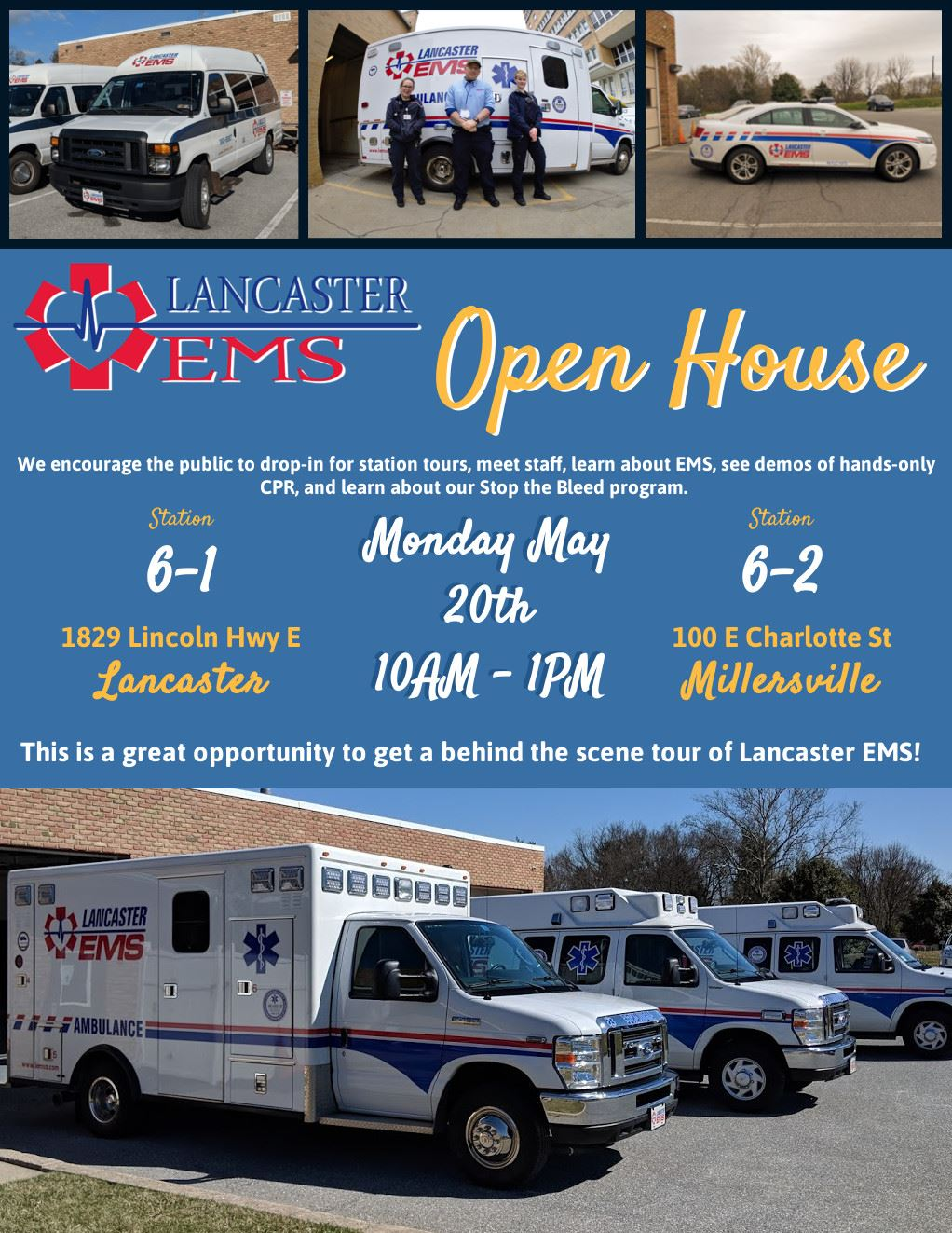 LEMSA Open House